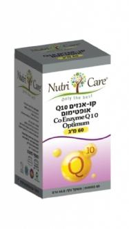 """קו אנזים CoQ10 אופטימום- 60 מ""""ג"""