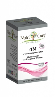 4 M – Multivitamin  for  pregnant  women