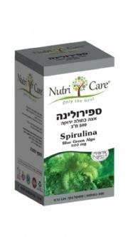 ספירולינה כמוסות - מכיל חומרי תזונה טבעיים